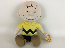 """Peanuts Charlie Brown Plush 13"""" Stuffed Doll Toy Kohls Cares New with Ta... - $24.91"""