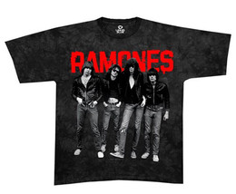 Ramones-First Album Band-Monster Image-X-Large Black T-shirt - $20.31