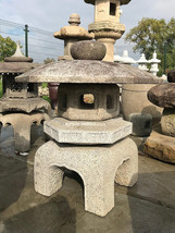 Antique Meiji Period Kodai Yukimi Gata Japanese Stone Lantern - 0101-0034 - $1,995.00
