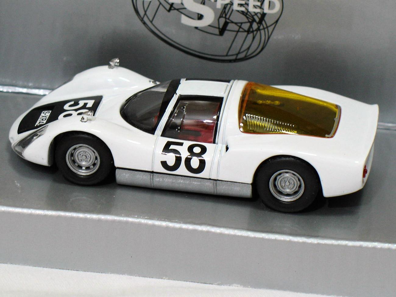 Porsche 906 Carrera 6 #58 1965 white 1/43 die cast model car (Rare)