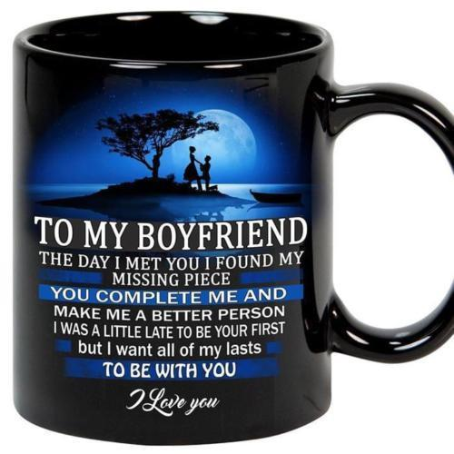 Primary image for To My Boyfriend The Day I Meet You I Found My Missing Piece Coffee Mug 11oz