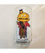 McDonalds Mayor McCheese Glass Tumbler 1977 Collectors Series Libbey Bur... - $7.92