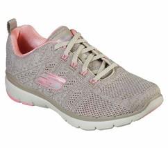 Skechers Shoes Natural Pink Memory Foam Women Sport Comfort Sneaker Casual 13077 - $47.49