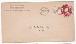 ABNEY BARNES COMPANY CHARLESTON, W. VA. MARCH 21 1916  - $1.98