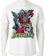 Deathlok Dri Fit graphic T shirt moisture wicking classic Marvel Comics Sun Shir image 1