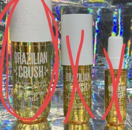 NEW IN BOX Sol de Janeiro BRAZILIAN CRUSH MEGA SIZE 240mL Summer In A Sprayer!