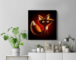 Canvas 'The Essential is Invisible to the Eye' / Modern Wall Art / Print... - $93.00+