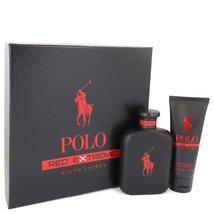 Ralph Lauren Polo Red Extreme 4.2 Oz EDP Spray + Body Wash 3.4 Oz 2 Pcs Gift Set image 1