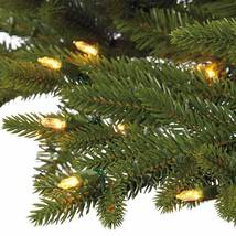7.5′ Pre-Lit LED Christmas Tree Surebright Dual Color EZ Connect image 4