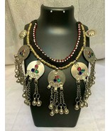 BUY 1 GET 1 FREE New Gypsy Silver Coin Ethnic Trendy Tribal Charm Necklace - $40.58