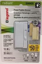 (New) Legrand RHCL453PTCCCV6 Radiant Slide Dimmer Switch - $25.99