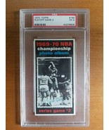 1970/71 Topps Basketball NBA Championship Game 2 Card #169 PSA Graded EX 5 - $24.75