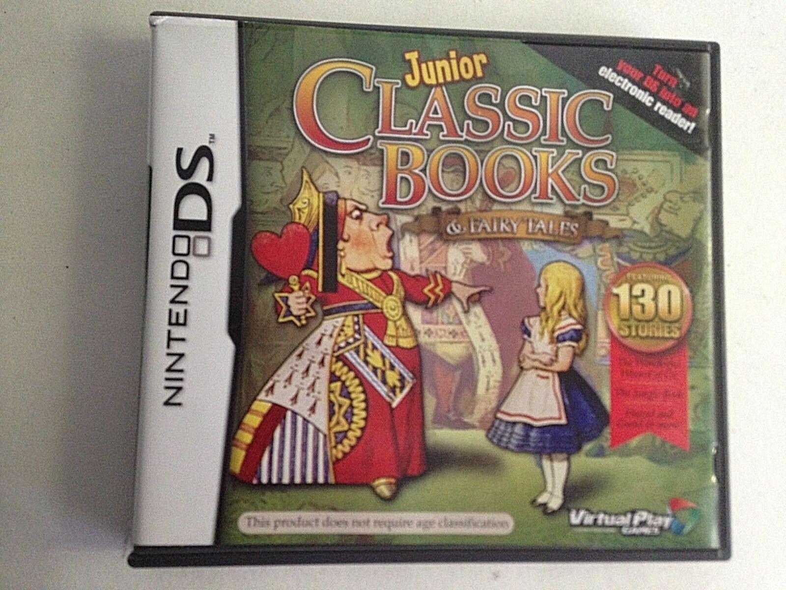 Junior Classic Books & Fairy Tales: 130 Stories (Nintendo DS, 2010)
