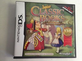 Junior Classic Books & Fairy Tales: 130 Stories (Nintendo DS, 2010)  - $9.85