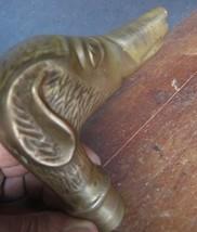 Vintage Brass Dog figurine Mount part of Walkin... - $23.03