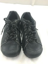 Keen sz 8 black leather tie shoes - $148.50