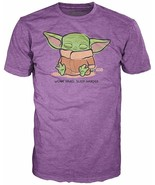 The Mandalorian The Child Sleeping Purple Pop! T-Shirt - €19,37 EUR