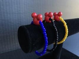 Mickey Mouse Bracelet Set Of 3 Gifts - $14.99