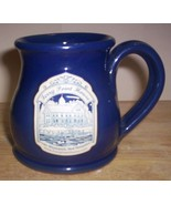 DENEEN POTTERY MUG-- FERRY POINT HOUSE, LAKE WINNISQUAM, NEW HAMPSHIRE - $14.95