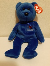 """TY Beanie Baby - CHICAGO the Bear (I Love Chicago - Show Exclusive)  8"""" - $10.99"""