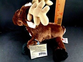 GANZ CHRISTMAS Reindeer Moose Plush Stuffed Animal Toy Holiday  - $5.93
