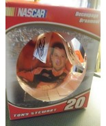 Tony Stewart Trevco Collectible Decoupage Ball Nascar Ornament #20 still... - $8.59