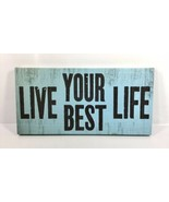"Louise Carey Inspirational Wall Art Hanging Picture Decor ""Live Your Bes... - $18.95"