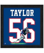"Officially Licensed Lawrence Taylor Giants Hall of Fame LB 20"" x 20"" Uni... - $69.95"