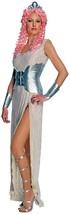 Goddess Costume Medium Womens Clash of the Titans Aphrodite Adult Silver... - $27.99