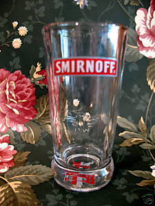 Smirnoff Vodka Shot Glass Souvenir Collector Collectible