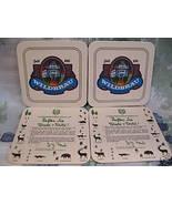 WILDBRAU GRAFING GERMAN BEER COASTERS MATS set of 4 - $5.99
