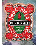 IND COOPES BURTON ALE BEER COASTERS MATS #15 Series 3 - $5.99