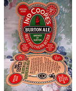 Ind Coope's Burton Ale Beer Coaster Mat 1st. Edition - $6.99