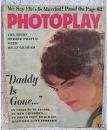 Photoplay Magazine Movie Stars ELVIS PRESLEY JACKIE KENNEDY DEBBIE REYNO... - $14.95