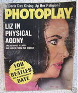 Photoplay Movie Magazine Elizabeth TAYLOR RICHARD BURTON DORIS DAY Eddie... - $4.95