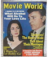 Movie World Magazine AUDREY HEPBURN CARY GRANT Elizabeth TAYLOR Richard ... - $14.95