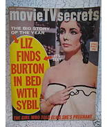 Movie TV Secrets Magazine ELVIS PRESLEY JANET LEIGH ELIZABETH TAYLOR SYB... - $14.95