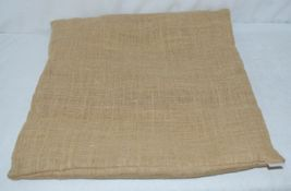 Kate Winston Pillow Burlap Cover Plus Home On The Range Wrap image 6