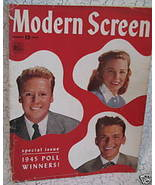 Modern Screen Movie Star Magazine JUNE ALLYSON FRANK SINATRA VAN JOHNSON... - $7.95