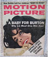 Vintage Motion Picture Movie Magazine ELIZABETH TAYLOR SOPHIA LOREN GREG... - $14.95