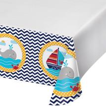 Ahoy Matey 54 x 102 Plastic Tablecover Border Print/Case of 6 - €30,65 EUR