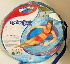 NEW SwimWays Spring Float Round Papasan - Mesh Float for Pool or Lake -D... - $20.37