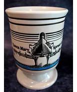 Queen Mary Spruce Goose Coffee Mug Airplane Ship Collector Souvenir - $9.99