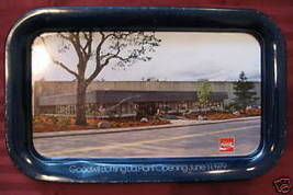 Vintage COCA COLA COKE Tray Goodwill Bottling Plant Souvenir Silver Anni... - $19.99