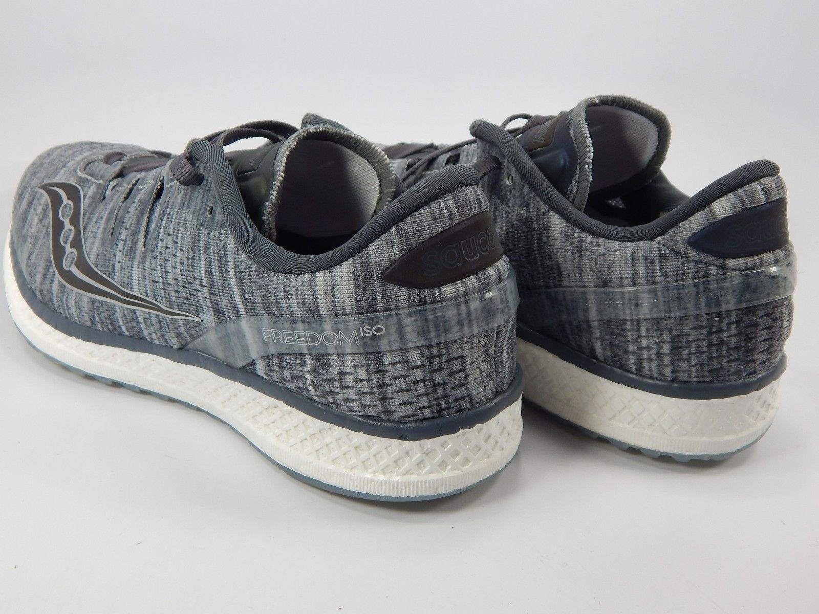 Saucony Freedom ISO Size 9 M (B) EU 40.5 Women's Running Shoes Silver S10355-20