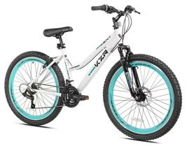 Kent Bicycles 26 In. KZR Mountain Women's Bike, White/Teal - $399.99