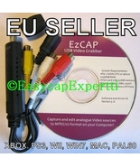 EASYCAP DC60+ v3.1C CAPTURE CARD, MAC/XP/Vista/Win7 - HD VIDEO TO YT - 2... - $45.98
