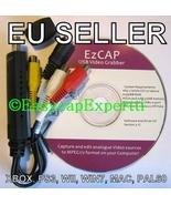 EASYCAP DC60+ v3.1C CAPTURE CARD, MAC/XP/Vista/Win7 - HD VIDEO TO YT - 3... - $59.99