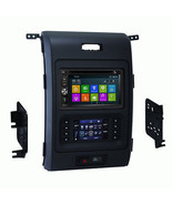 DVD GPS Navigation Multimedia Radio and Dash Kit for Ford F-150 2013-2014 - $643.49