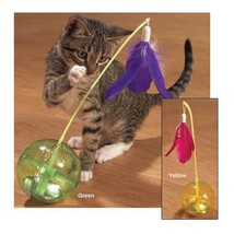 Booda Balance Ball  Cat Toy (Yellow) - $27.62 CAD